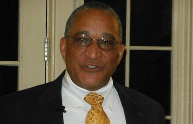 Chatham Mayor Bruce Harris (Marianne Ivers | for Independent Press)