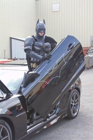 Touch-A-Truck on Saturday, Aug. 2, will welcome âBatmanâ himself, aka Detective Genaro Ortiz Jr., of the Newark Police Department. A resident of Newark, Detective Ortiz has been appearing as the caped crusader at schools and charity events all over the state for more than 20 years.