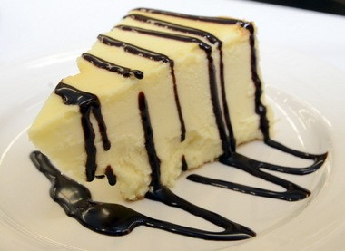 Chicago style chocolate cheesecake served at Camden County Technical School's Back Door Café,Thursday. (Staff Photo by Joe Warner/South Jersey Times)