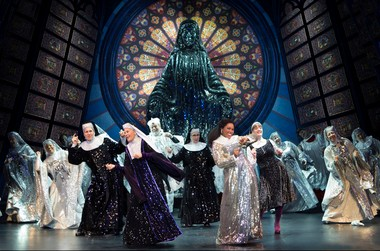 'Sister Act' will be at the Academy of Music in Philadelphia Tuesday, April 2 through Sunday, April 7.