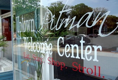 Uptown Pitman Welcome Center on 2nd Avenue in Pitman.
