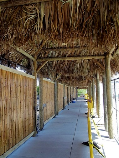 The cabanas at Sahara Sam's Oasis Beach Club will be able to be rented by families for the day once the water park is completed and opens Memorial Day Weekend.