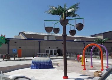 Splish Splash children's play area at Sahara Sam's Oasis Beach Club.