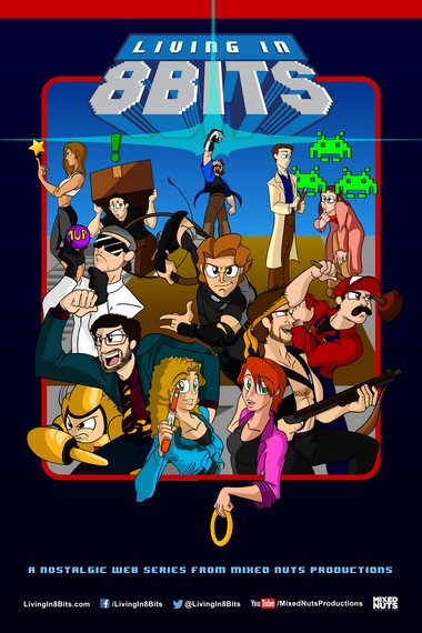 'Living in 8 Bits,' a comedy series about retro video games created by Mixed Nuts Productions is now available in a DVD set.