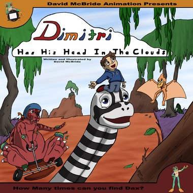 The cover of 'Dimitri Has His Head in the Clouds' is shown. (Photo provided)