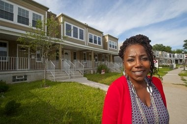 Bridget Phifer has helped rehabilitate 230 properties in the Parkside neighborhood.