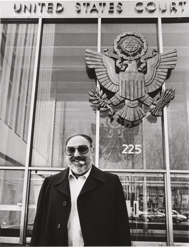 Con man and FBI informant Mel Weinberg on April 7, 1981.