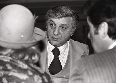 Angelo Errichetti, former mayor of Camden, on Jan. 1, 1978.