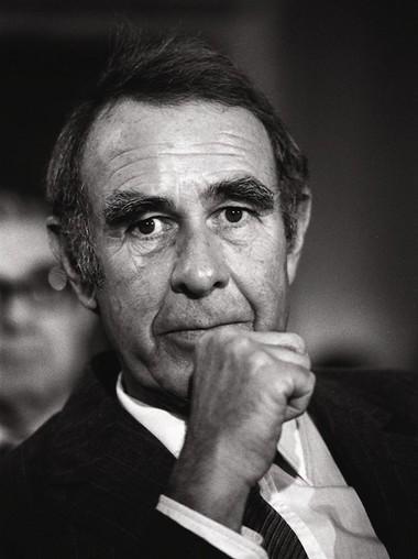 Sen. Harrison A. Williams on July 28, 1981.