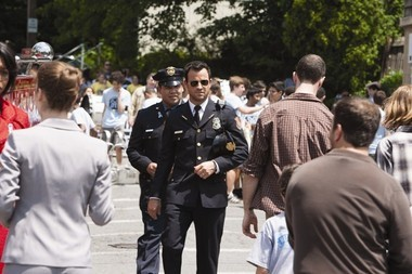 "A scene from the pilot of HBO's ""The Leftovers,"" which debuted in June."