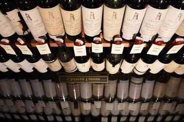 Chateau Latour is thought to be the longest-lived of the great Bordeaux labels and there are more than 100 of its vintages for guests to choose from at the Crystal Springs Resort in Hamburg.