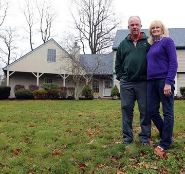 Jim and Teresa Flaherty, who own a home in Tinton Falls, plan a move to North Carolina when Jim retires. (David Gard | For NJ Advance Media)