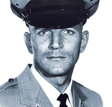 State Trooper Werner Foerster, who was murdered in a shootout with black militants on the New Jersey Turnpike in 1973.