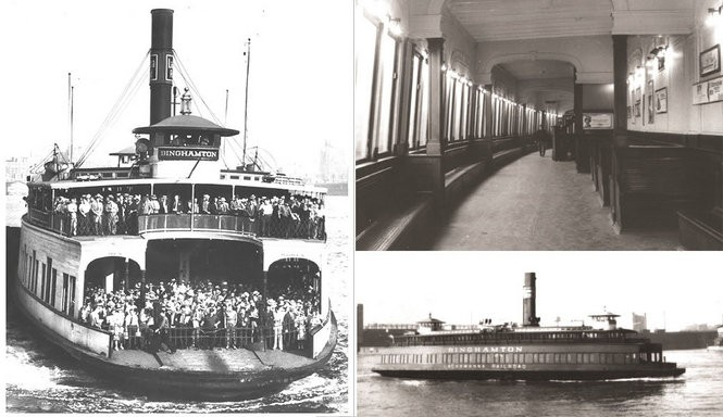 Historical photos taken sometime in the 1940s and 50s show the Binghamton in its heyday.