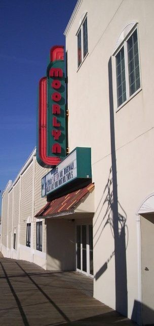 The Moorlyn is the last of the Jersey Shore boardwalk movie theaters.