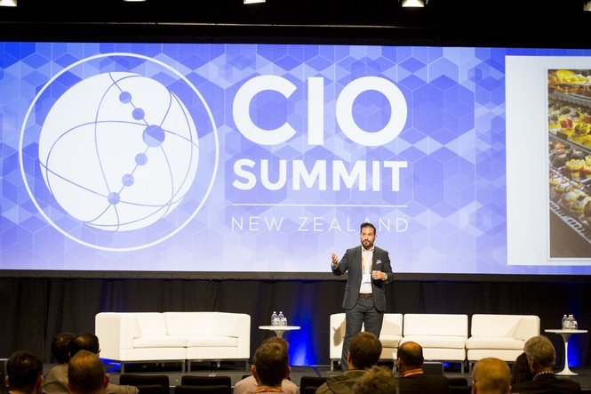 Leo Minervini gives presentations across the globe, preaching the importance of the customer in the world of big data.