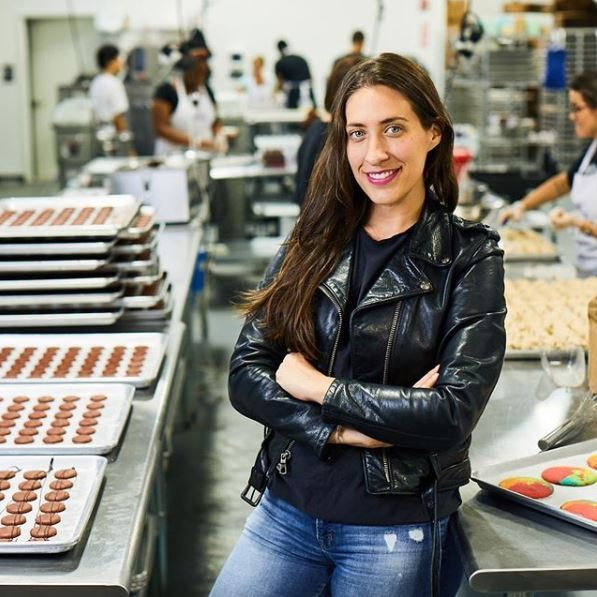 Dana Pollack, 36, is the founder and owner of Dana's Bakery, which is known for its quirky, colorful and delightfully delicious French macarons.