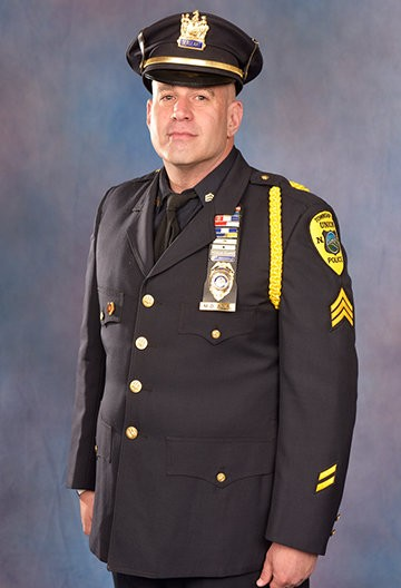 Union Township Sgt. Michael Boll is dedicated to helping underprivileged children, disabled veterans and first responders.