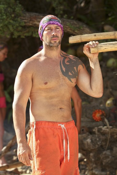 Tony Vlachos, a Jersey City police officer, was part of the Brawn tribe on 'Survivor: Cagayan.' He eventually won the game on May 21, 2014. CBS photo