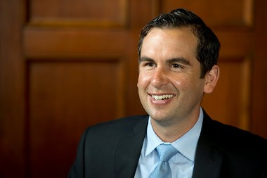 Mayor Steve Fulop has ordered that all full-time municipal workers will be paid $15 an hour at least. Reena Rose Sibayan   The Jersey Journal