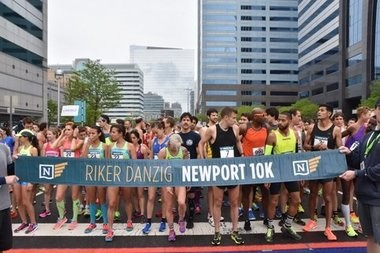 More than 1,500 runners participated in the Newport 10k on Saturday, May 6, 2017. There's another Jersey City Downtown race coming in November where Ward E Councilwoman Candice Osborne is the favorite and she doesn't have to travel as far.