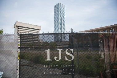 The long-vacant Jersey City lot that is slated to be home to One Journal Square.