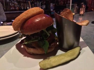 The Tavern Burger at the Stirling Hotel (Peter Genovese I NJ Advance Media for NJ.com)