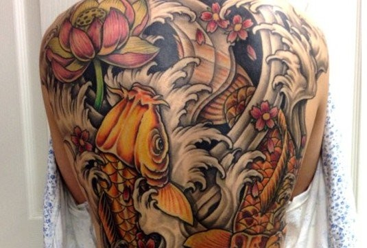 A tattoo inked by 12 oz Studios in Brooklawn and Deptford. (Courtesy of 12 oz Studios)