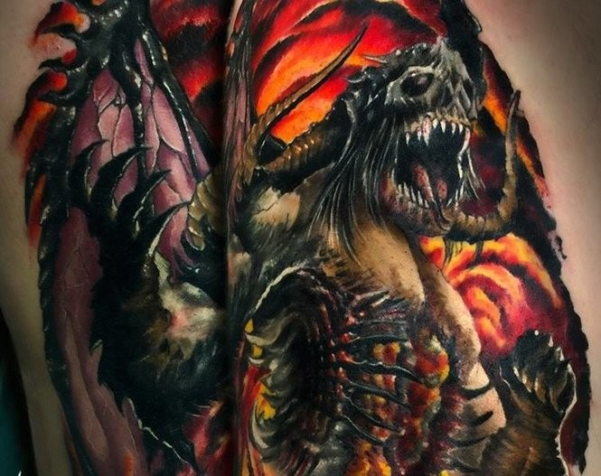 A tattoo inked by Pure Ink Tattoo in Ledgewood. (Courtesy of Pure Ink Tattoo)