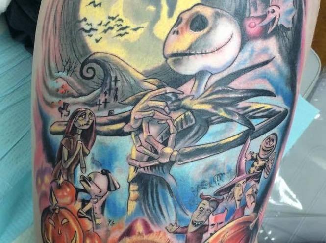A tattoo inked by South Vineland Firehouse Tattoos in Vineland. (Courtesy of South Vineland Firehouse Tattoos)