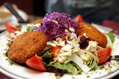 The Warm Goat Cheese Salad, Park Wood Diner, Maplewood (Alex Remnick I NJ Advance Media for NJ.com)
