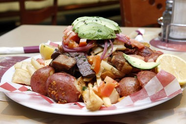 The grande picada at the Tropicana Diner in Elizabeth (Alex Remnick I NJ Advance Media for NJ.com)