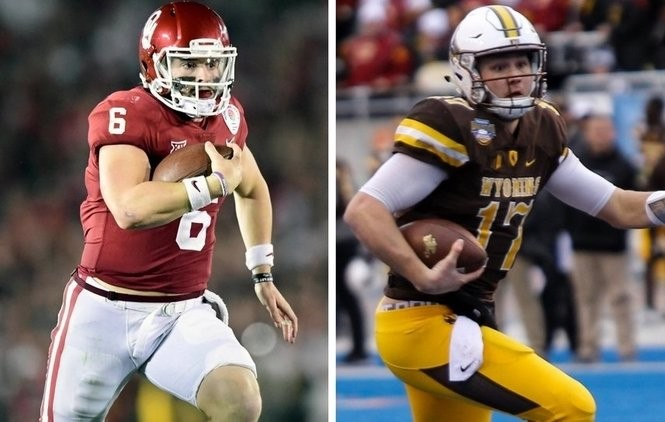 efa20b3b949 NFL mock draft 2018: Baker Mayfield or Josh Allen to Jets in surprise  7-round prediction?