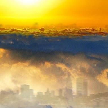 """""""Air"""" by Hoboken artist Roslyn Rose"""