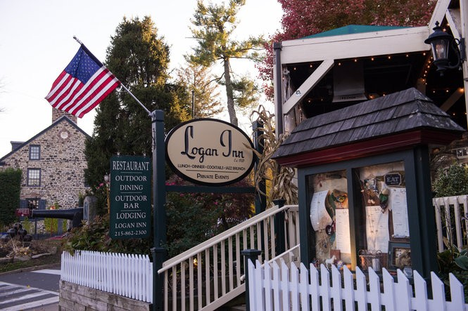 Logan Inn has remained a staple of New Hope's Main Street for generations.