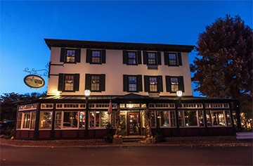 The Logan Inn is located in New Hope, Pa.