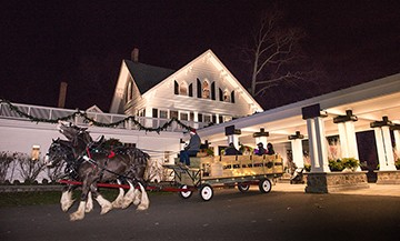 The Ryland Inn in Whitehouse Station is a magical venue for a holiday party.