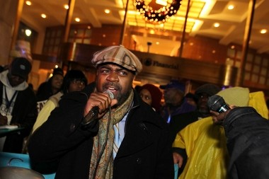 Newark City Councilman and 2014 mayoral hopeful Ras Baraka, seen here in a file photo, listed more community initiatives and gang intervention as key components of his public safety plan.