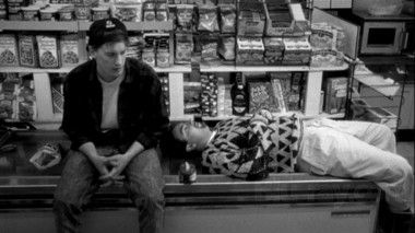 """A scene from Kevin Smith's """"Clerks""""."""