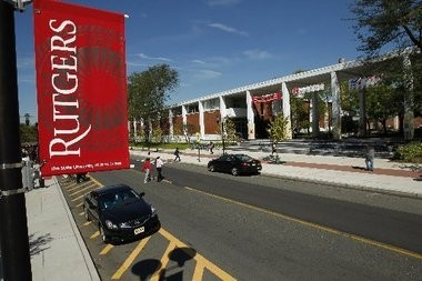 Rutgers University and Devco broke ground today on a $330 million project to build a series of new buildings on the College Avenue campus in New Brunswick.
