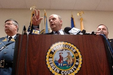 Bergen County Prosecutor John Molinelli appears in this 2004 file photo. Molinelli's office issued subpoenas to three employers of Thom Ammirato.