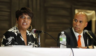 Linda Watkins-Brashear, pictured left, former executive director of the Newark Watershed Conservation and Development Corp., is one of the defendants named in a class-action lawsuit filed in Essex County.
