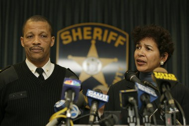 A prosecutor's office report obtained by The Star-Ledger revealed new details about allegations that led to Irvington Police Chief Michael Chase's, left, suspension last month. Chase was accused of ordering detectives to repair his wife's car while on-duty and scuttling a probe into misconduct by his nephew, who is also a police officer.