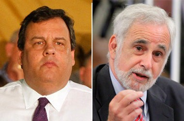Gov. Christie today went after David Rosen, the budget officer for the state's Office of Legislative Services, for his projections on the revenue shortfall.