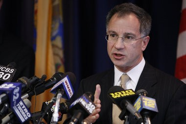 U.S. Attorney Paul J. Fishman, seen in this file photo, announced that Sang-Kyu Seo would serve three years in prison for his role in a complex identity theft scheme.