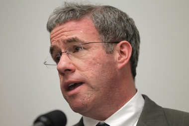 New Jersey Attorney General Jeffrey Chiesa is pictured last April.