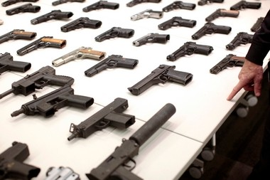 There are more than 100 million handguns in America today.