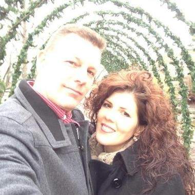 In this Facebook photo posted on Jan. 10, Chester and Rosaria Andraka were the picture of happiness.