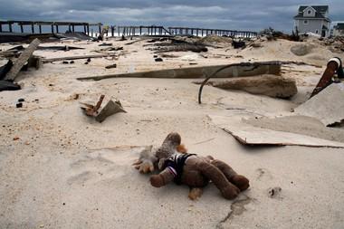 Ortley Beach was devastated by Hurricane Sandy.