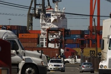 A former Port Newark terminal operator filed a lawsuit charging the International Longshoremen's Association with forcing the company out of business after it refused to provide no-show jobs and other illegal perks.